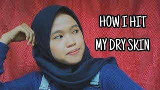 HOW I HIT MY DRY SKIN || Herni tell