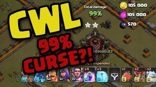 Clash of Clans • DO WE HAVE A 99% CURSE ON US?!
