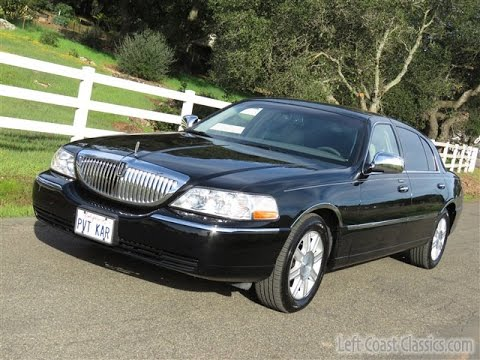 2009 lincoln town car	  2009 Lincoln Town Car Executive L for Sale - YouTube