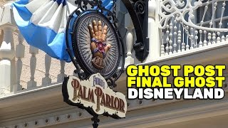 """Ghost Post - final ghost - """"The Spirit Who Knocks"""" at Disneyland"""