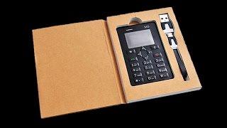 Самый тонкий телефон! Телефон Кредитка