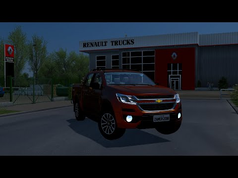 Euro Truck Simulator 2 Chevrolet S10 High Country 1 36 Youtube