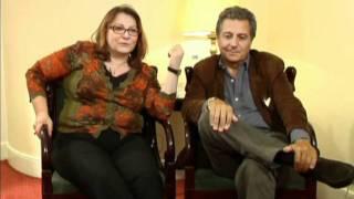 Josiane Balasko et Christian Clavier interviewés par Gilles Botineau