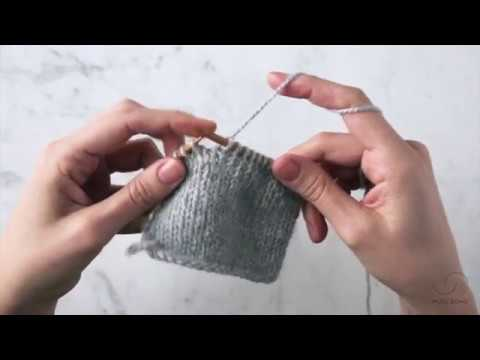 German Short Rows Tutorial | Purl Soho