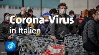 Mehr als 160 Corona Infektionen in Italien