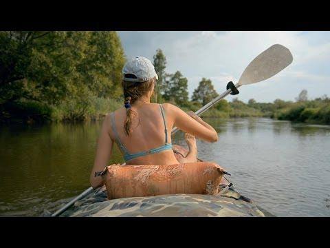 Лето, Беларусь, Байдарка / Wild Belarus travel -  Река Случь, Налим 300, Canoe Kayak - nikon D5200