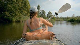 Лето, Беларусь, Байдарка / Wild Belarus travel -  Река Случь, Налим 300, Canoe Kayak - nikon D5200(, 2014-05-01T16:29:35.000Z)