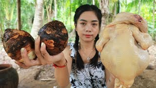 Yummy cooking chicken with Taro recipe - Cooking skill