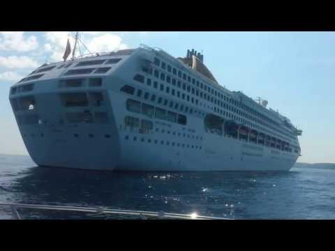OCEANA Cruise ship - Saint Tropez P&O Cruises