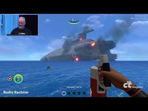 """c't zockt """"Subnautica"""": Survival unter Wasser"""