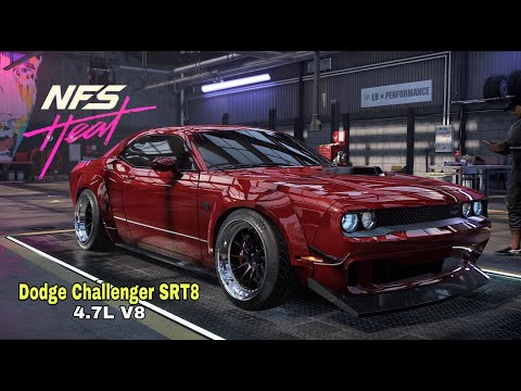 Dodge Challeger SRT8 4.7L V8 - Need for speed Heat (Game Play) |