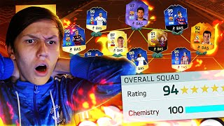 194 RATED FUT DRAFT!!! OMG IMPOSSIBLE WORLD RECORD ATTEMPT!! - (FIFA 16 FUT Draft)