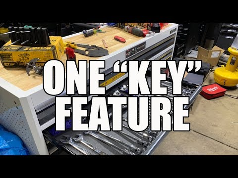 KOBALT Tool Chest from Lowes with SmartKey Mp3