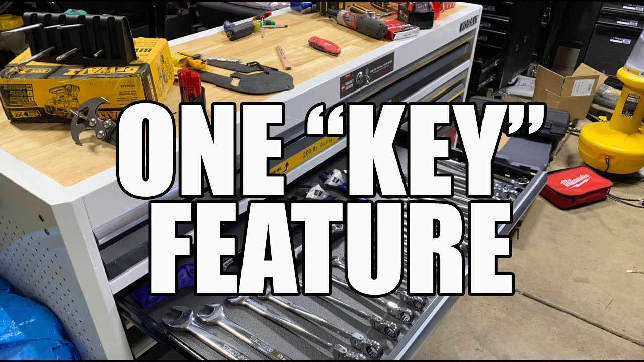 KOBALT Tool Chest from Lowes with SmartKey