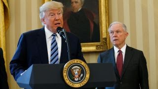 Trump vs Sessions: Trump loyalist in WH doghouse Free HD Video