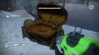 destiny rise of iron open chest with skeleton key mark of fortune