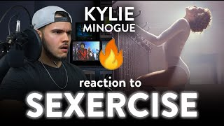 Kylie Minogue Reaction Sexercise (WARNING EXPLICITLY HOT) | Dereck Reacts