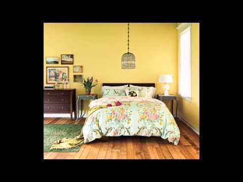 Creative Yellow bedroom decorating ideas