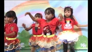 Video Pembelajaran Dance Anak PAUD Maju Mundur Cantik Syahrini