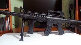 М 16.Пневматична гвинтівка.Пластик.Іграшка.
