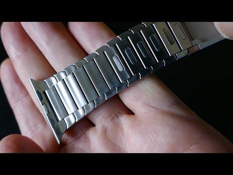 Apple Watch OULUOQI Link Bracelet in 4k UHD