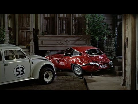 The Love Bug 1969 Herbie Gets Angry