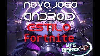 NEW GAME (ANDROID) FORTNITE STYLE (CYBER HUNTER) + DOWNLOAD