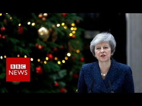 Theresa May's full statement - BBC News