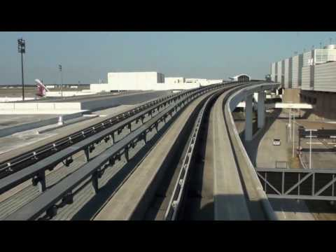 HOUSTON TEXAS AIRPORT SKYWAY MONORAIL