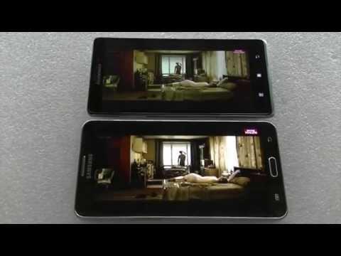 Samsung galaxy Note 3 vs Lenovo Vibe Z K910 comparativa ESPAÑOL