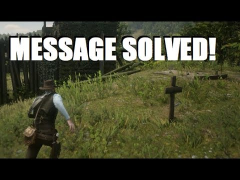 Hidden Message Solved and Leads to HUGE SECRET in Red Dead Redemption 2! thumbnail