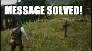 Hidden Message Solved and Leads to HUGE SECRET in Red Dead Redemption 2!
