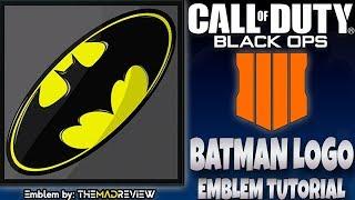 "COD BO4 Black Ops 4 "" BATMAN LOGO "" Emblem Tutorial Guide How To Make MP3"