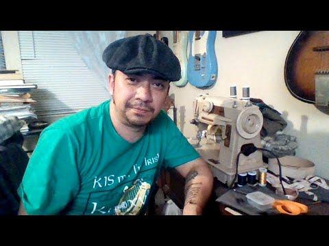a732dd79300e6 How I Make A Flat Cap - YouTube