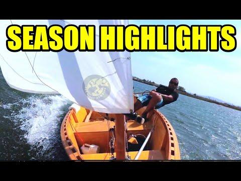 Homemade Dinghy First Sailing Season Highlights