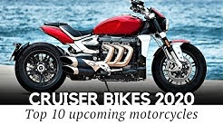 10 New Cruiser Motorcycles and Upcoming Bikes of the 2020 Model Year
