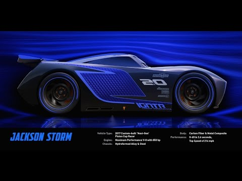 Meet Jackson Storm Disney Pixar S Cars 3 Youtube
