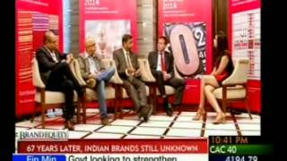 Interbrand India - Best Indian Brands 2014 Panel discussion with ET Now