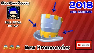 """NOVEMBER"" All new Roblox Promocodes (2018)"