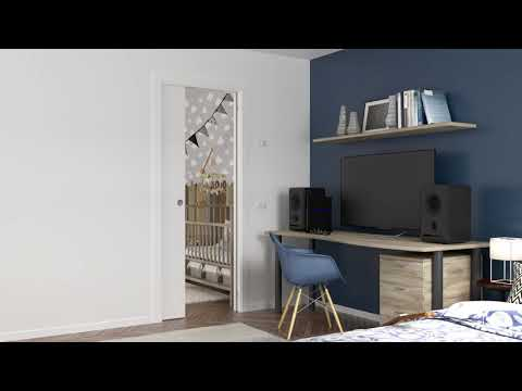 Discover ECLISSE Acoustic - the new Acoustic Pocket Door -