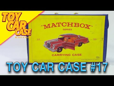Matchbox Series Carrying Case 1965 Toy Car Case