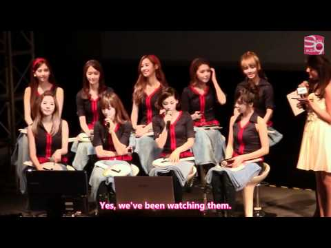 Fanmeeting in Beijing - SNSD Cut [04.23.11]