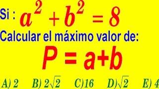 Productos Notables - Examen Admisión Universidad Nivel UNI - Pregunta Resuelta de Álgebra Pre