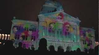 Rendez-Vous Bundesplatz Lichtshow 2012