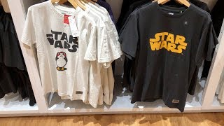 Uniqlo UT'17 x Star Wars: The Last Jedi Graphic T-Shirts