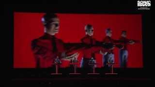Kraftwerk live at Sonic Mania 2014.
