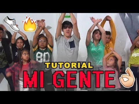Tutorial Paso A Paso   J. Balvin, Willy William - Mi Gente    Reggaeton 👟🔥