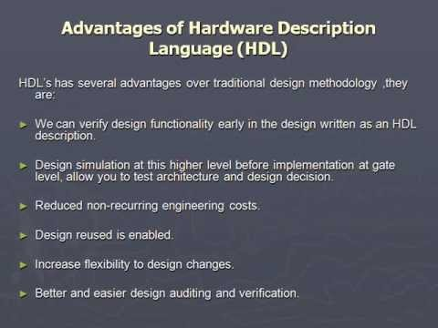 Hardware description language PPT