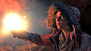 Rise of the Tomb Raider Final Boss + Ending (After Credits Scene) 1080p HD