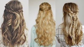 8 Easy Winter Hairstyle Ideas | Winter hairstyles |Part-5